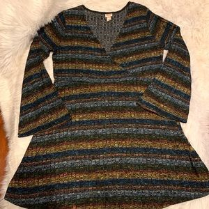 Mossimo PLUS SIZE Multicolor Sweater Dress XXL
